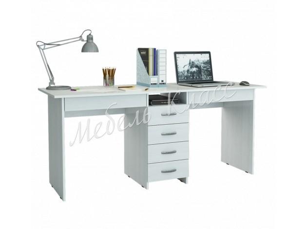 Компьютерный стол с ящиками Тандем-2Я