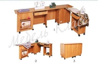 Тумба для швейной машинки Белошвейка-1 (б-л)