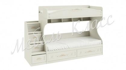 Кровать двухъярусная с приставной лестницей «Лючия»