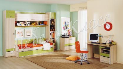 «Киви» модульная мебель для детской комнаты