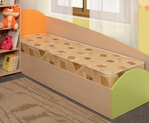 Детская кровать одинарная Тони