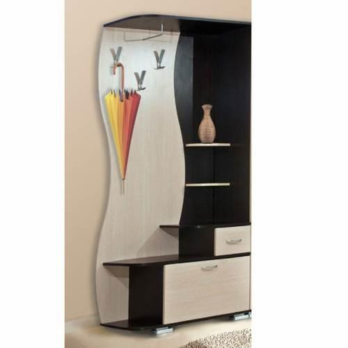 Шкаф комбинированный Визит-М10 (ясень шимо)