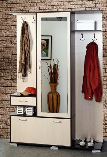 Шкаф комбинированный в прихожую Кармен-2