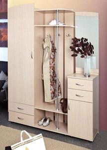 Шкаф комбинированный Визит-М08