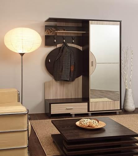 Шкаф комбинированный Визит-М09 (ясень шимо светлый/венге)