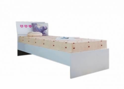 Кровать (белая) «Ральф-4» №15
