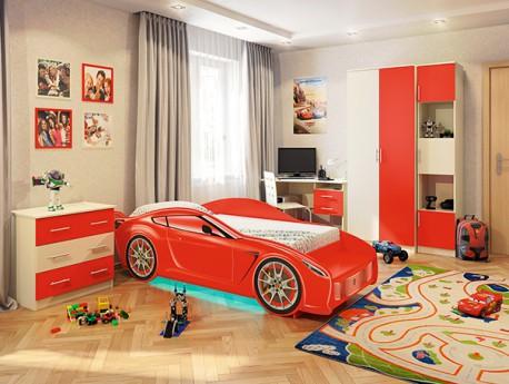 Детская кровать - машинка