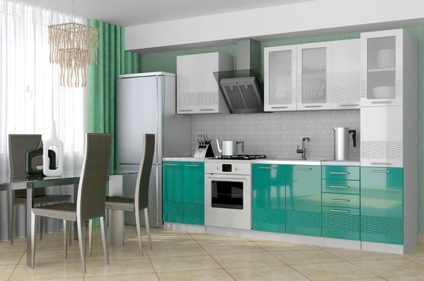 Кухня 3D Олива